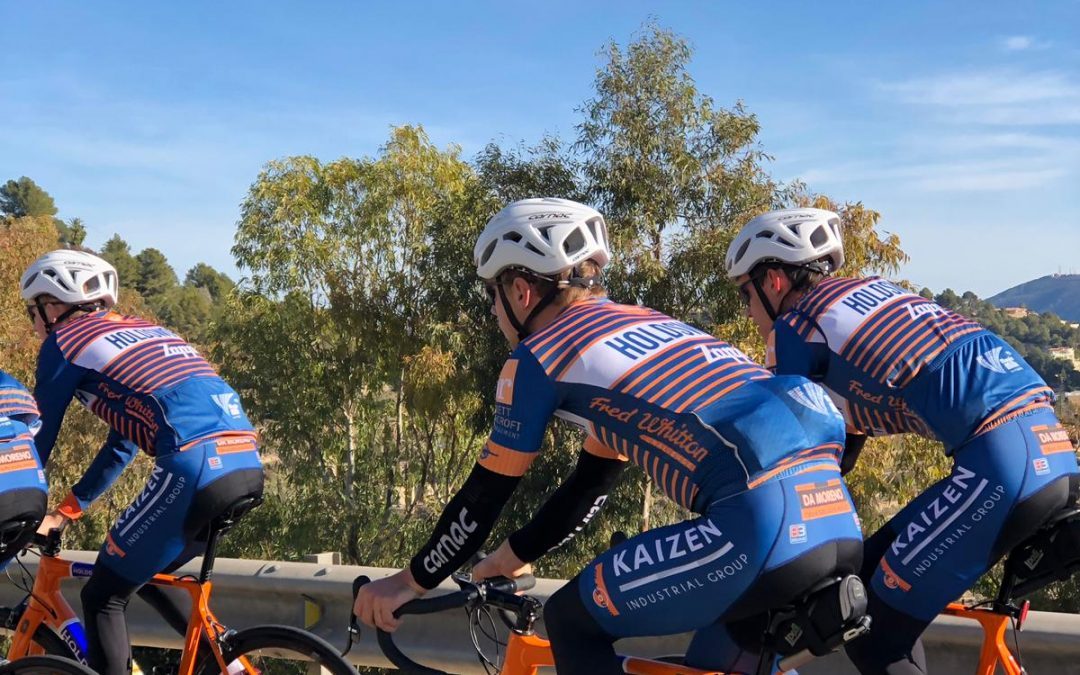 Holdsworth Zappi U23s launch a new UK-based Northern European group of riders